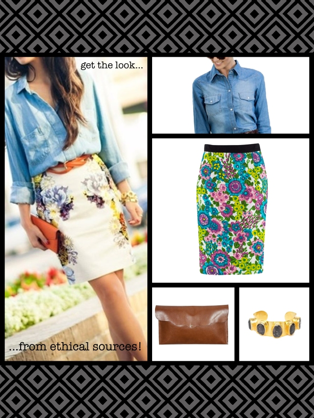 Get the look from ethical sources!
